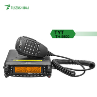 Hot Selling TYT-TH-9800 50W Out Quad Band Mobile Car Radio with 29/50/144/430 Mhz &26-950 Mhz transceiver