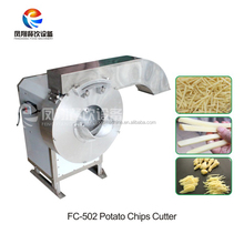 FC-502 CE certificate vegetable root stick chip cutting machine (stainless steel304)