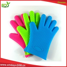 Heat Resistant Oven Mitts Gloves Non-Slip Kitchen Silicone Cooking Gloves
