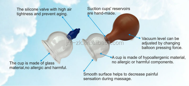 OEM Hot sales rubber bulb vacuum suction cupping (glass&plastic)