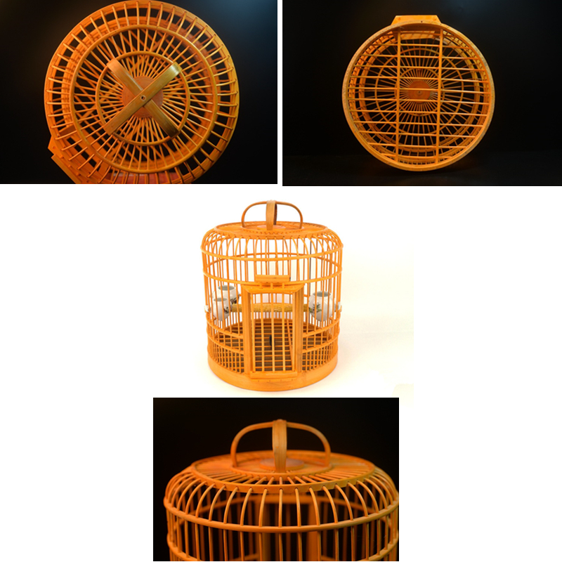 Deluxe Bamboo Bird Cages For Sale