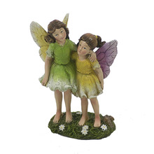 Resin Fairy Sister Garden Supplies