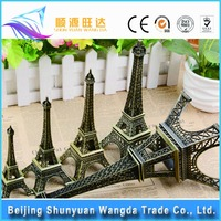 Hot Sale Zinc Alloy Metalcraft Paris Mini Eiffel Tower Model