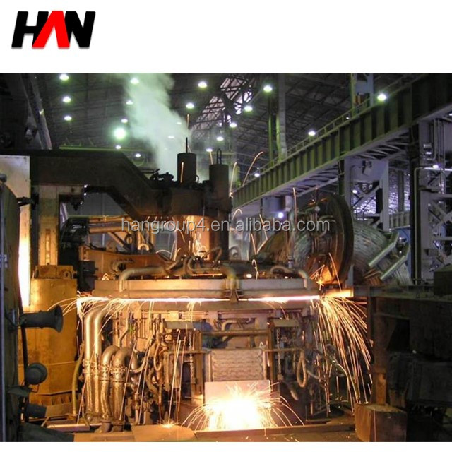 top charging EAF tapping electric arc furnace