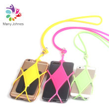 Universal Adjustable Silicon Sling Phone Case
