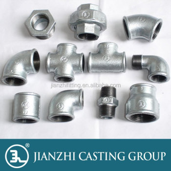 white and black NPT thread pipe fittings