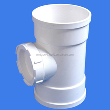 110mm flexible upvc plastic water pipe faucet grooved fitting coupling for drainage