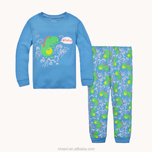 2017 latest cheap fashion wholesale kid pajamas 100% cotton children baby pyjamas 100% cotton