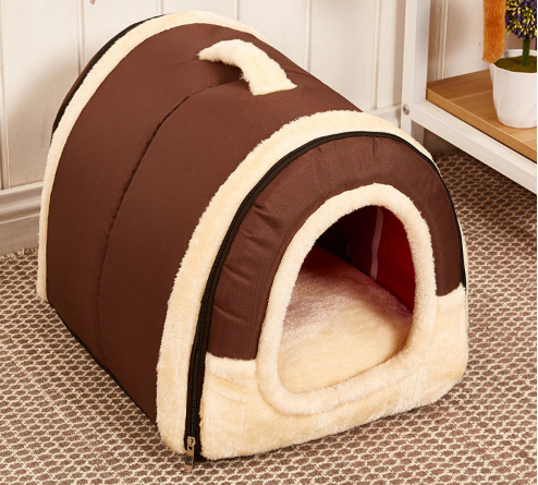 dog bed pet house for winter warm house bed for dog and cat