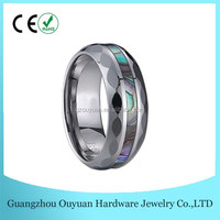 Lowest Price Ring Jewelry,Charm Tungsten Carbide Ring With Shell