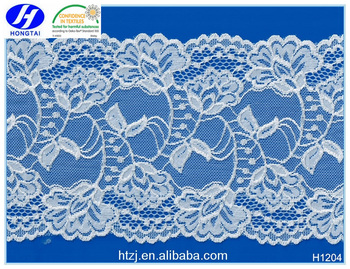 Bulk Buy from China Elastic Bridal Lace Trim for Upholstery Decoration
