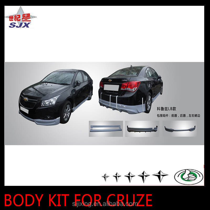 Auto parts pp plastic material bumper for cruze LB style