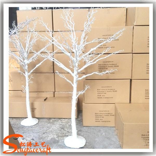 Arbre artificiel pas sans feuilles branches blanches pour - Tronc d arbre artificiel ...