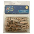 wooden pegs craft wood pegs natural