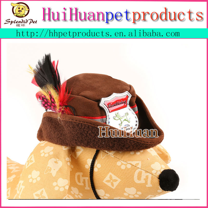 Hot sale hat for dogs outdoor accessories pet cap for cat