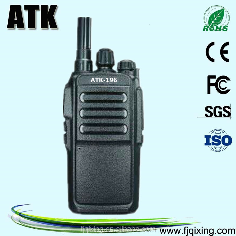 Trunked radio systems walkie talkie with GPS