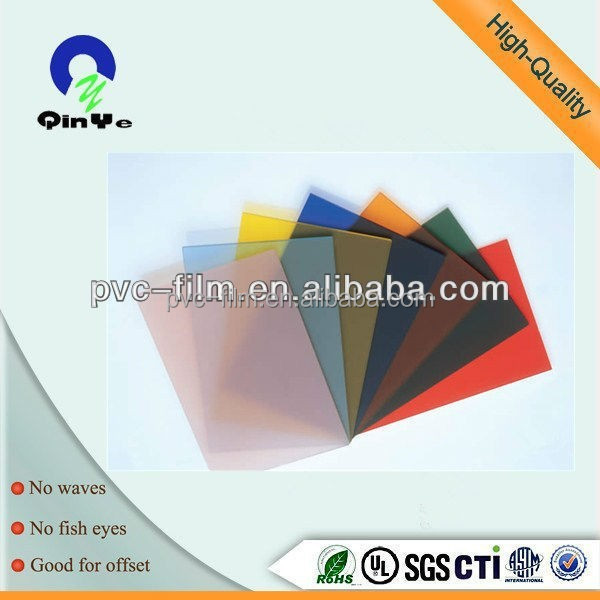 PVC Material pvc cover plastic cover sheet