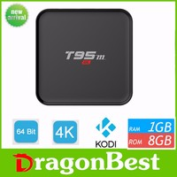 Factory Supply 1080P TV BOX KODI 16.0 Android 5.1 2.4G+5G WIFI with 4.0 bluetooth when ddr is 2gb