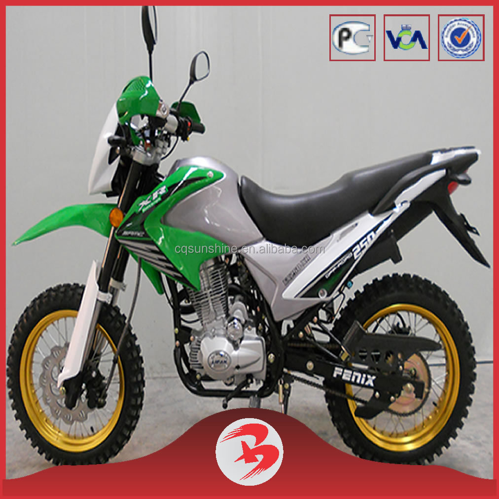 SX250GY-9A High Quality Nice Looking Brozz 250CC Dirt Bike For Cheap Sale