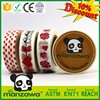 free sample manzawa custom 10mm washi tape... wholesale karachi washi tape Gift Box decoration