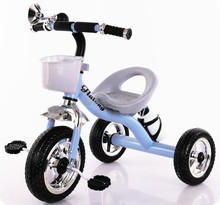 cheap colorful New Arrival 12 inch wheels children trike with trailer / push baby walker tricycle / Cheap Price kids Tricycle