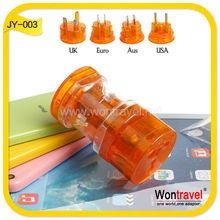 JY-003 Wontravel Best Selling Products Electrical Power Converter travel charger with CE ROHS certification
