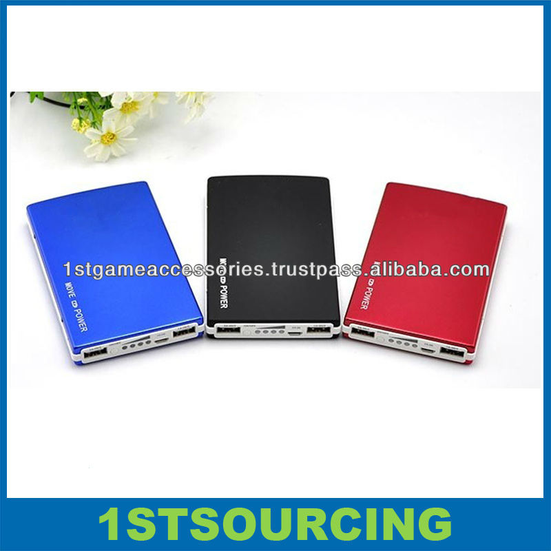 Hot sell Portable Mobile Power Bank 9600mah,USB External Battery 9600 Power Bank for Cell Phone