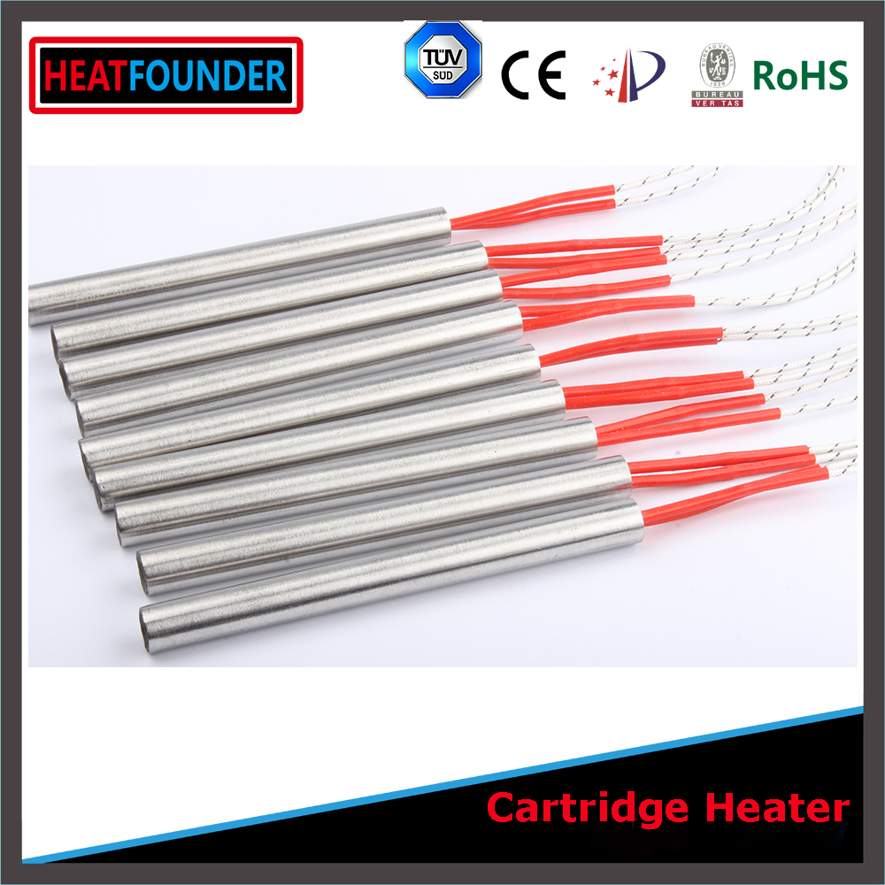 Single head heating pipe 2000w electric heater