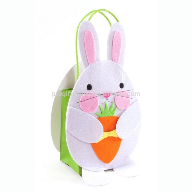2017 easter paper gift bagsyuanwenjun 2017 new fashion hotsale cheap wholesale handmade craft rabbit basket paper decoration gift felt easter fabric negle Choice Image