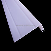 L shaped plastic profile PVC car door frame