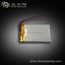 303759 3.7v 650mAh 3.7v regchargeable ultra thin lipo battery