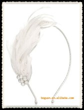 wholesale fashion white fake hair accessory