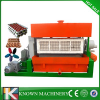 Cheap price 2500pcs/h with drying system egg tray processsing equipment,small egg tray processing machine