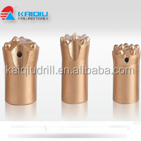 T38 T45 T51 R32 R38 Spherical threaded drill bits tungsten carbide rock drill tools