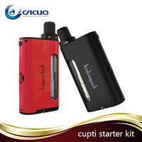 Newest design Kangertech CUPTI 75w kit TC mod all in one design 5ml capacity Cupti VS Kanger nebox