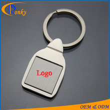 Hot selling metal sublimation keyring blank for company giveaways