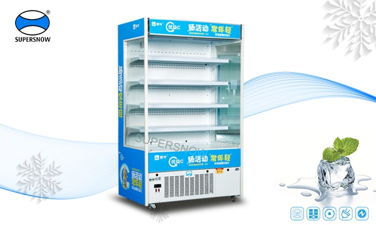 KX-1.2 LF Vertical Open Commercial Display Fruit and Fresh Vegetable Used Coolers For sale