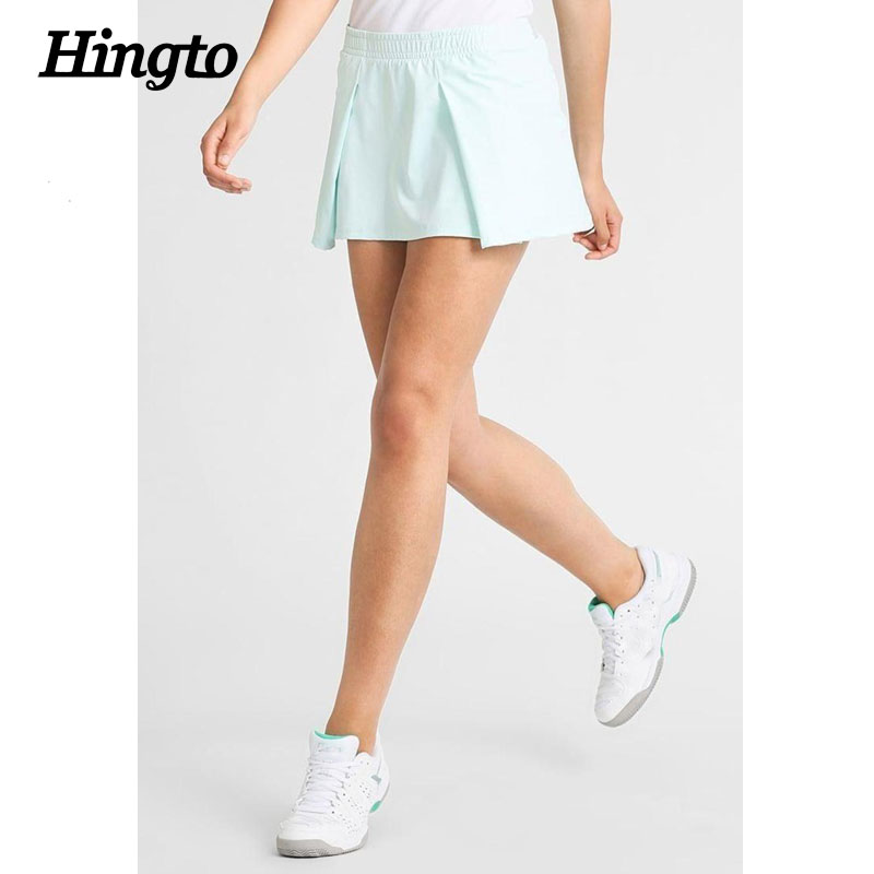 OEM & ODM service polyamide spandex dry fit women tennis wear athletic sports skirts with shortswholesale