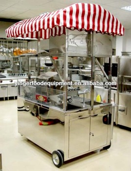 Commercial Hot Dog Cart, Food Kiosk, Food Cart