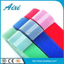 Garment accessories self adhesive hook and loop fastener tapes