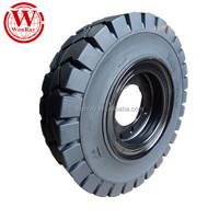 rims wheels doosan d45sc-5 parts solid 3.00-15 300-15 rubber forklift tire
