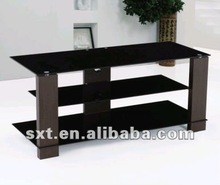 2012 best sell lcd wooden tv stand pictures