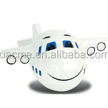 Quality products promotional pu foam ball , plane stress ball