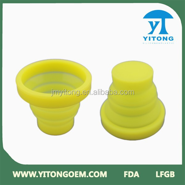 silicone collapsible cup silicone drinking cup