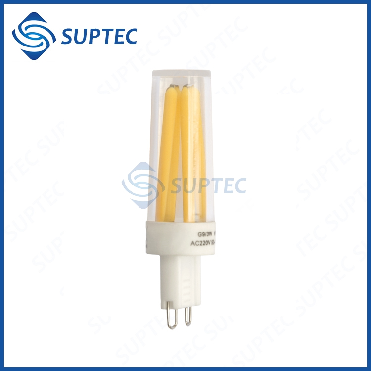 3W 120V 100LPW Filament LED G9 Bulb For North American Market