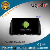 Andorid 4.4 2 system 10.1inch touch screen for 2015 Mazda cx5 car dvd gps navigation system