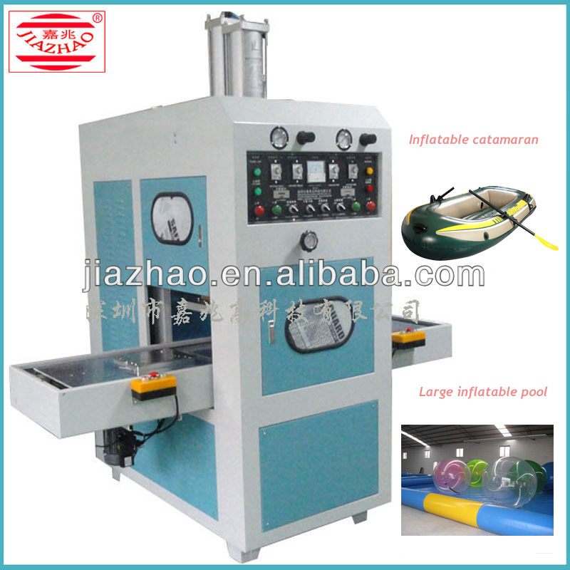 Strong pressure high frequency plastic welding machine for large inflatable pool,inflatable catamaran