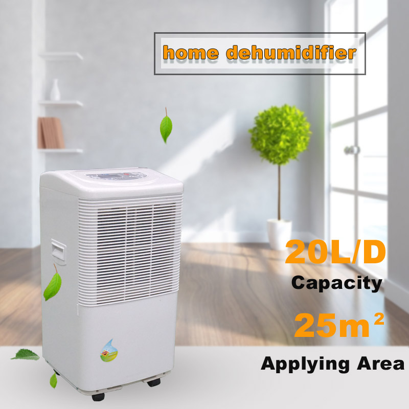 Removable water tank home dehumidifier 20 liters per day