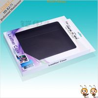 under 10 inch tablet pc leather case paper packing ,Retail package for ipad