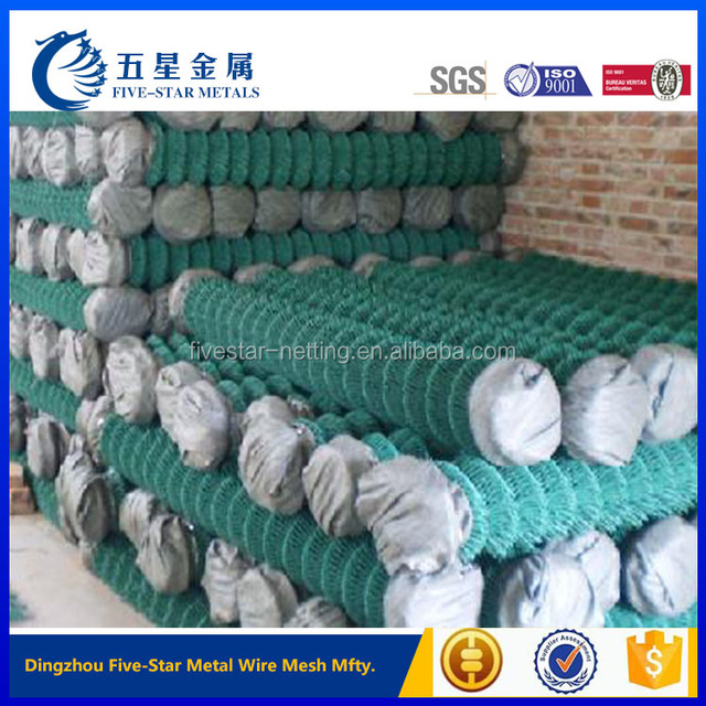 eco friendly and flexible pvc coated chain link fence for sale factory